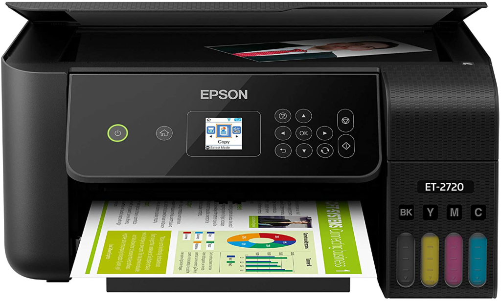 The Epson EcoTank ET-2720 a great workhorse printer