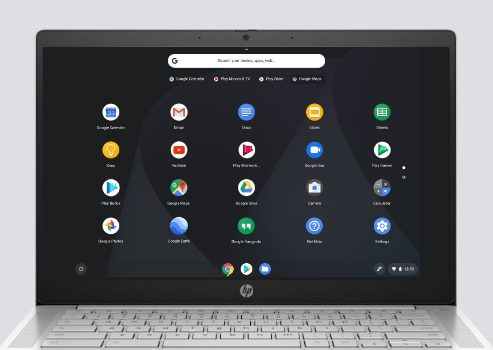 The HP Pro C640 Chromebook has a 14-inch display